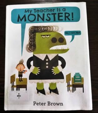 《My Teacher is a Monster!》封面