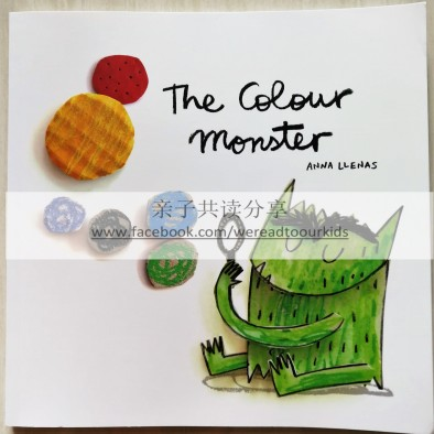 《The Colour Monster》封面