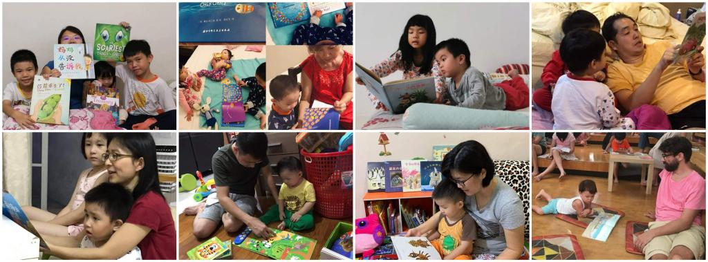 Read-aloud parents in Malaysia