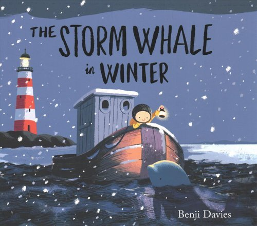 这是The Storm Whale的续集,Benji Davies的作品总让人爱不释手。我们家还有一本中文版的Grandad's Island《爷爷的天堂岛》,都是图画漂亮得不得了,故事也非常有意义的佳作。适合与4岁以上孩子共读。