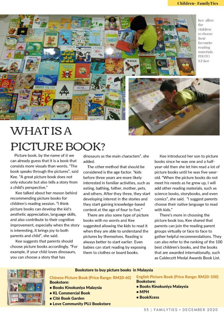 Page 2 What is a Picture? Where can you buy picture books in Malaysia